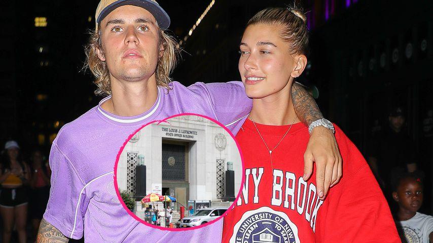 Hochzeit in New York:Bieber und Baldwin haben