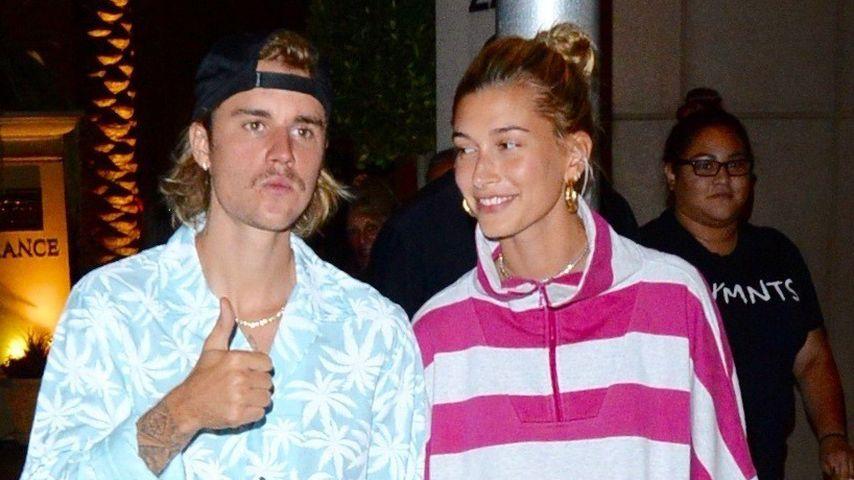 Justin Bieber und Hailey Baldwin in Beverly Hills