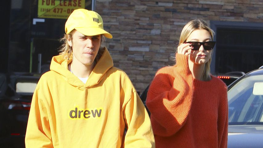Justin Bieber und Hailey Baldwin in Los Angeles