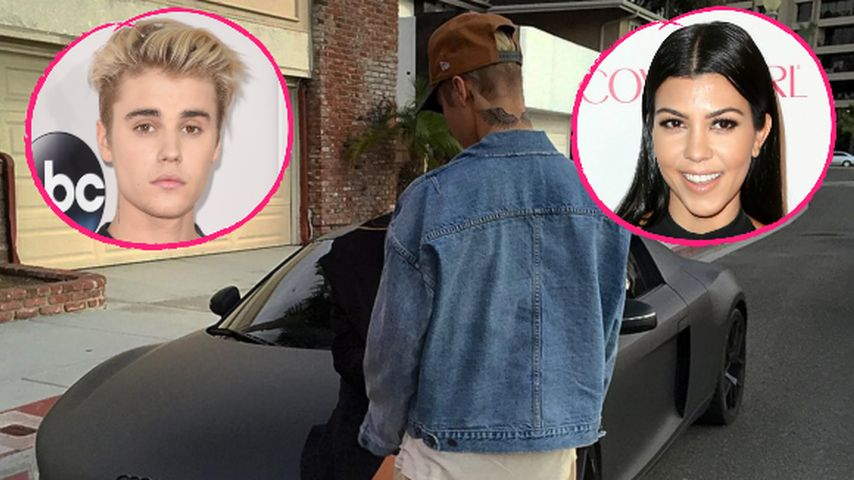 Krasses Gerücht: Datet Justin Bieber Kourtney Kardashian?
