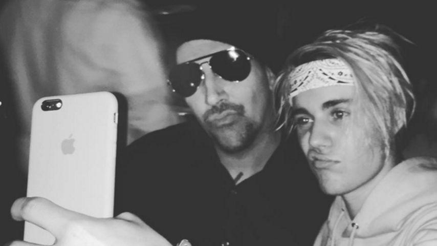 Justin Bieber & Marilyn Manson: Duckface-Selfie statt Beef!