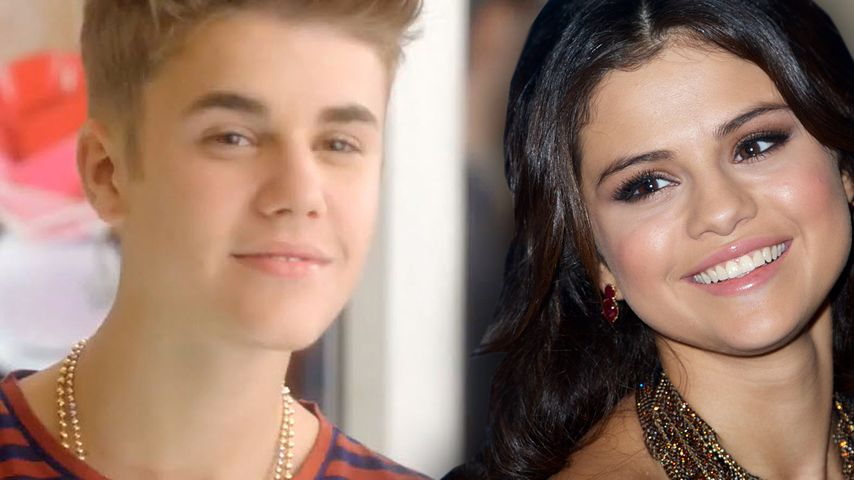 Justin Bieber & Selena Gomez: Küsse am Flughafen