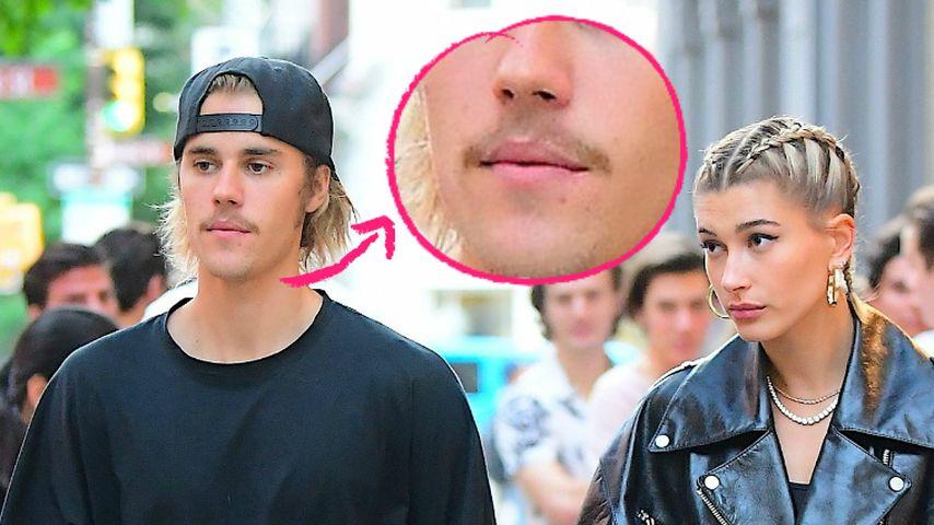 Für Hailey Baldwin? Justin Biebers Schnauzer ist endlich ab!