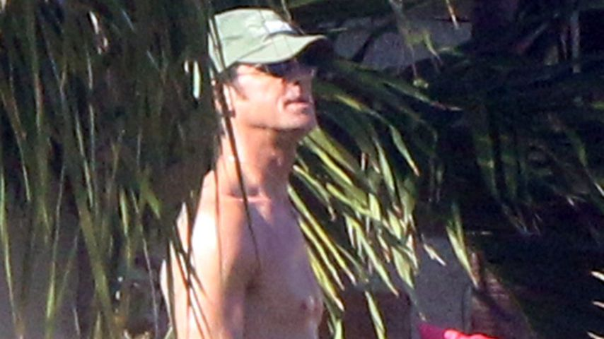 Justin Theroux in Mexiko