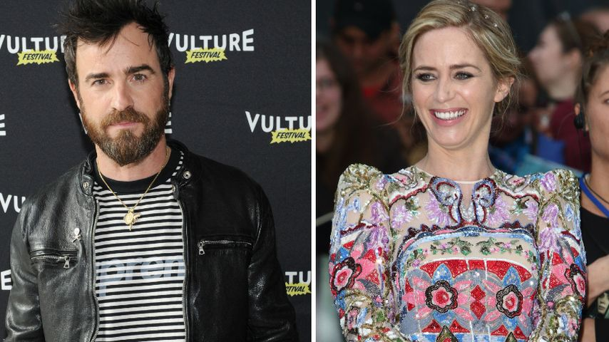 Stunt-Ärger: So erriet Justin Theroux Emily Blunts Baby-News