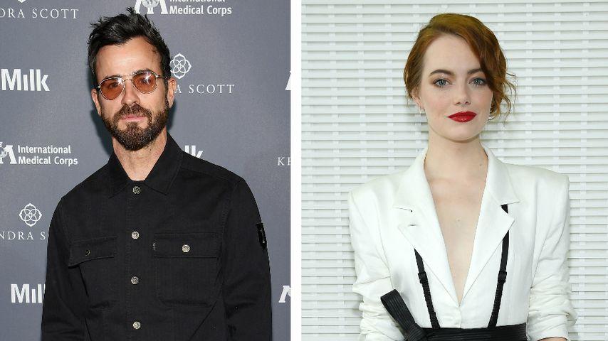 Justin Theroux & Emma Stone: Ziehen sie bald zusammen?