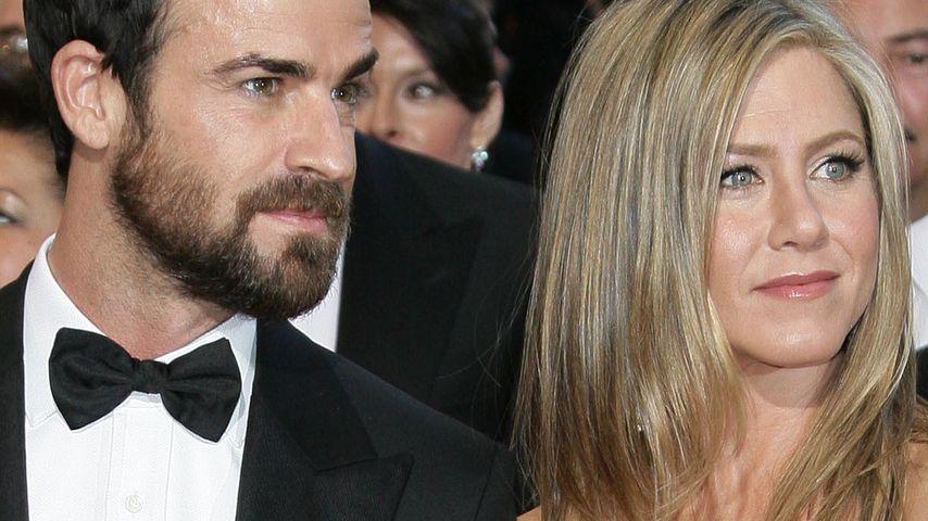 """Jennifer Aniston & Justin streiten um ihr """"Baby"""""""