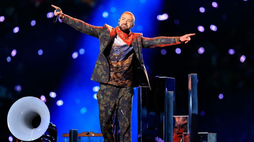 Justin Timberlake beim Super Bowl 2018