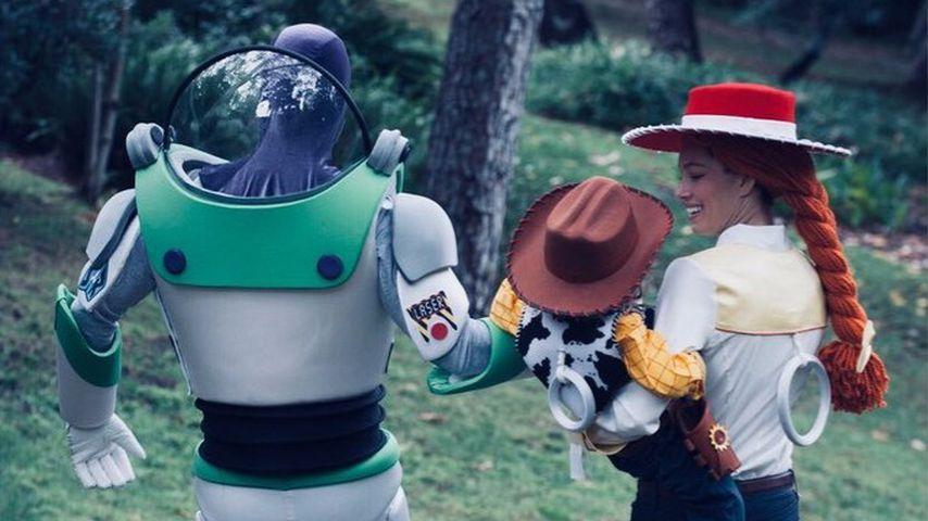 Justin & Jessica: Süßes Toy-Story-Halloween mit Sohn Silas!