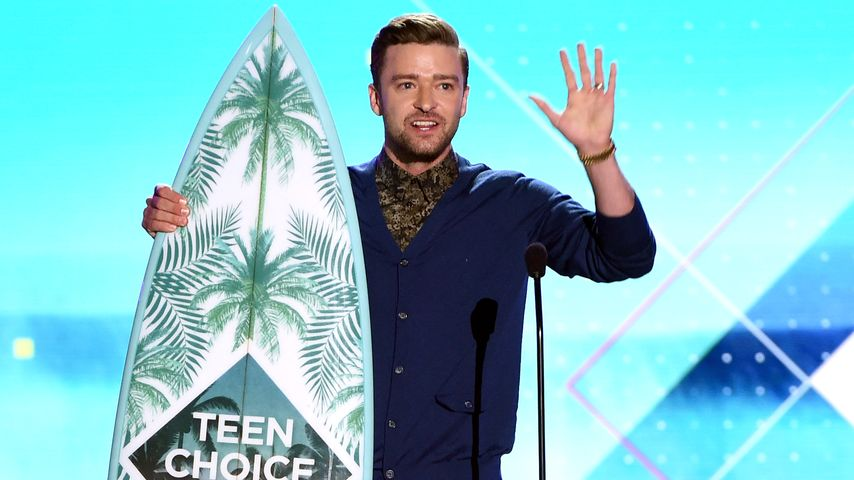 Justin Timberlake mit dem Surfbrett-Preis für sein musikalisches Lebenswerk bei den TCA 2016