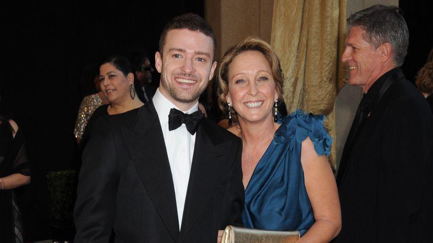 Justin Timberlake und Lynn Bomer Harless bei der 83. Oscar-Verleihung in Los Angeles