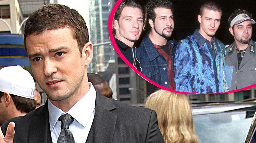 Timberlake-Hochzeit: Justin feierte ohne 'N Sync