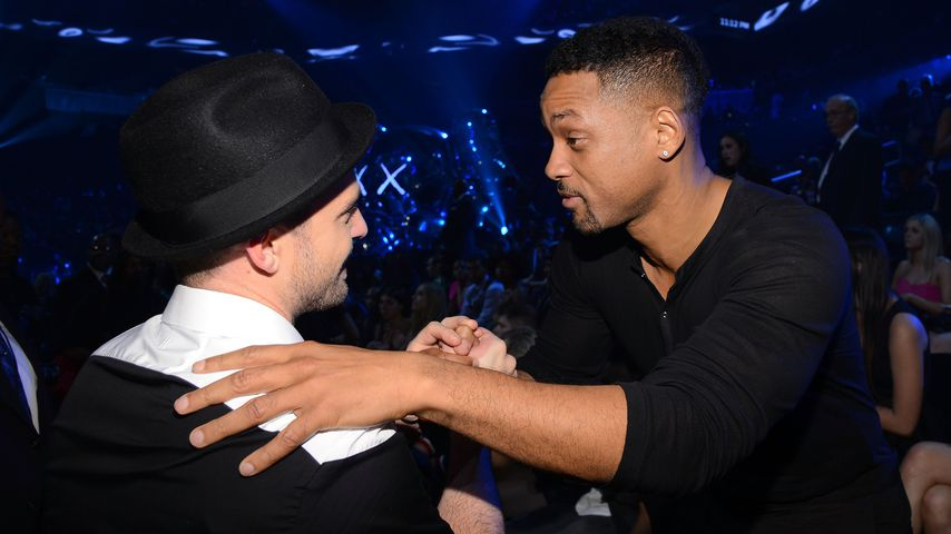 Justin Timberlake und Will Smith bei den MTV Video Music Awards in New York City 2013