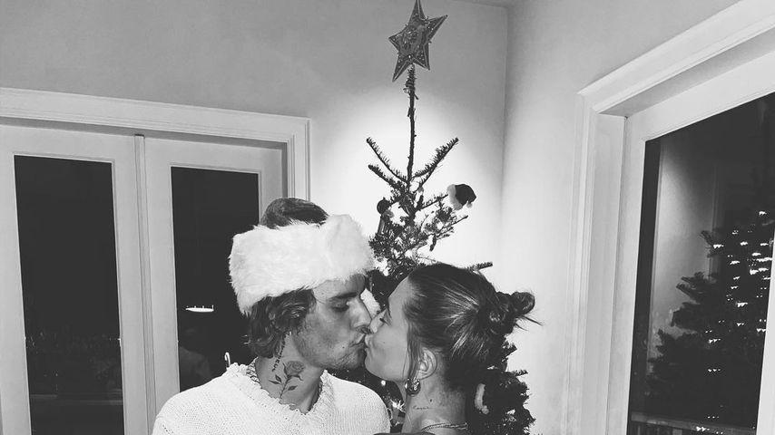 Justin und Hailey Bieber auf Instagram, 2020