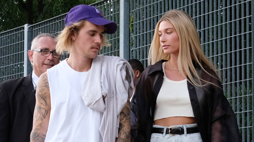 Justin und Hailey Bieber 2018 in New York