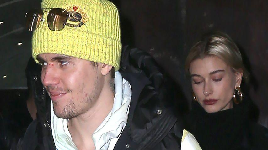 Ein wahrer Gentleman: Justin Bieber hält Hailey die Tür auf!
