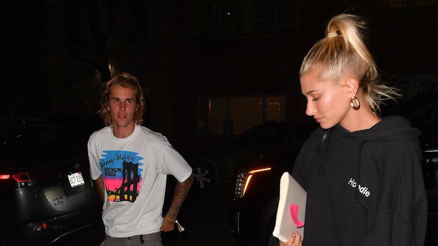 Typisch Justin & Hailey: In Jogginghose zum Gottesdienst!