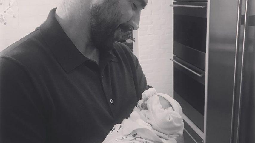 Justin Verlander mit seiner Tochter