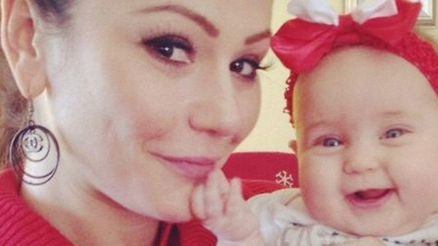 Nach Schwangerschafts-News: JWoww mit Baby im Arm