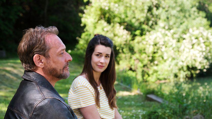 """Kai Noll und Sarah Bogen in """"Unter uns"""""""