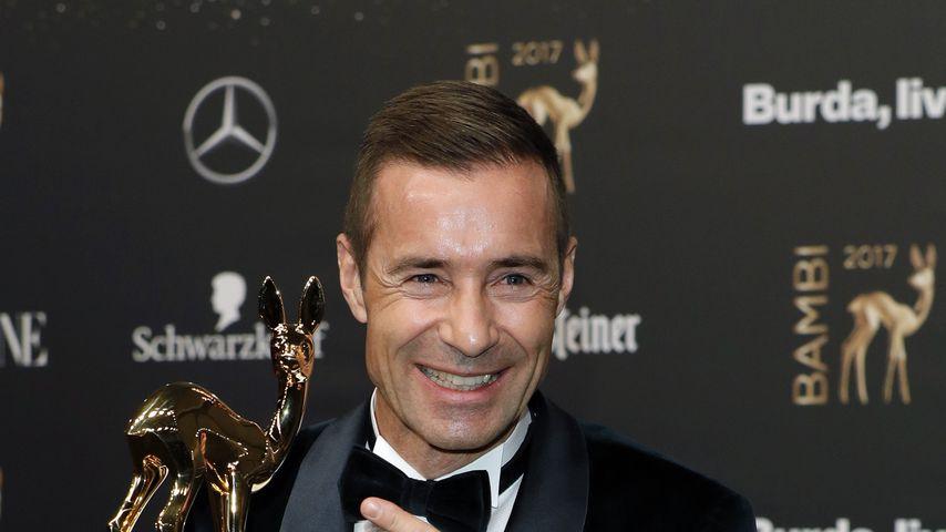 Kai Pflaume bei der Bambi-Verleihung 2017