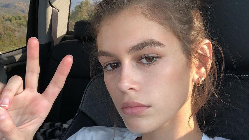 Model Kaia Gerber im Oktober 2018