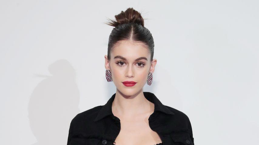 "Kaia Gerber auf der ""Hudson Jean""-Preview in New York"
