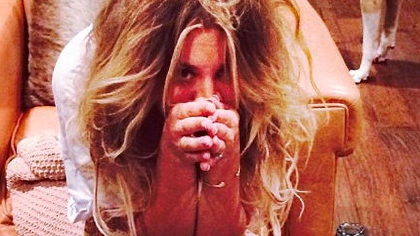 Junggesellinnen-Abschied: Kaley Cuoco so verkatert