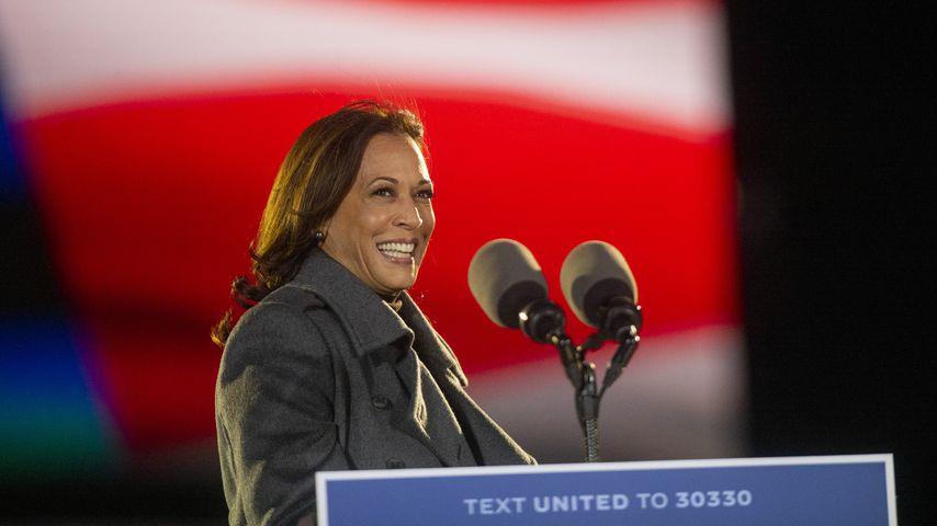 Kamala Harris bei einer Wahlkampfveranstaltung im November 2020