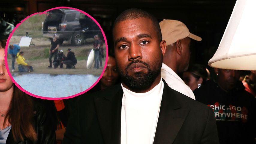 Trotz Ehe-Wirrwarr: Kanye dreht entschlossen Musikvideo!