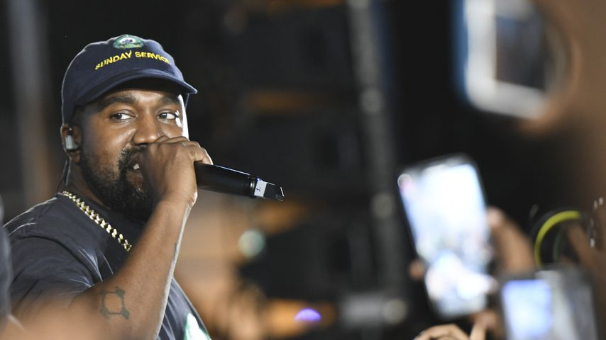 Kanye West auf Jamaica