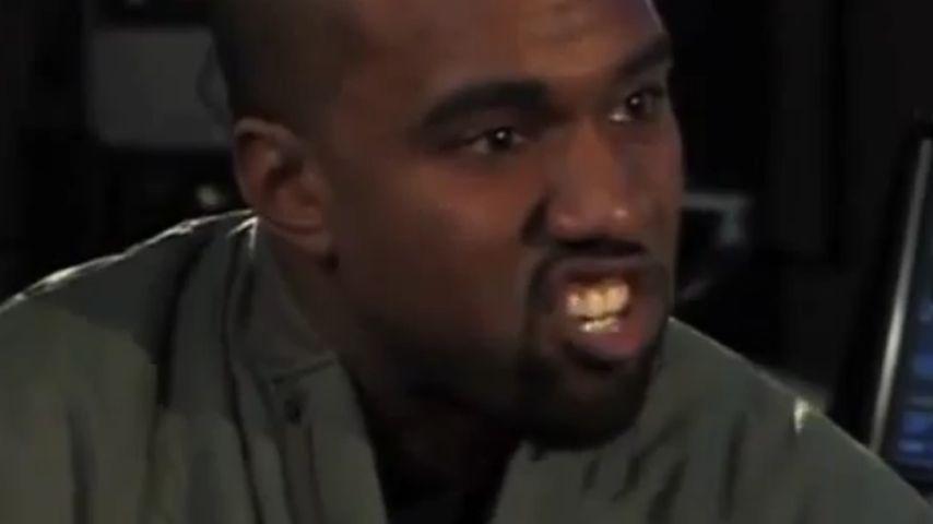 Von Jimmy Kimmel veralbert: Kanye West tobt!