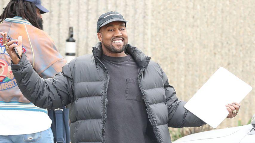 Kanye West in Los Angeles