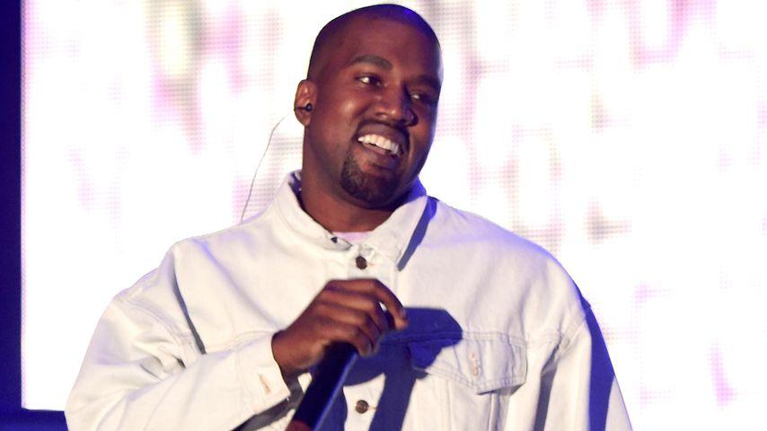 Kanye West strahlt: Mit 'nem Zauberkünstler feiert er B-Day!