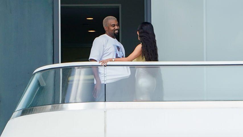 Kanye West und Kim Kardashian, Januar 2019
