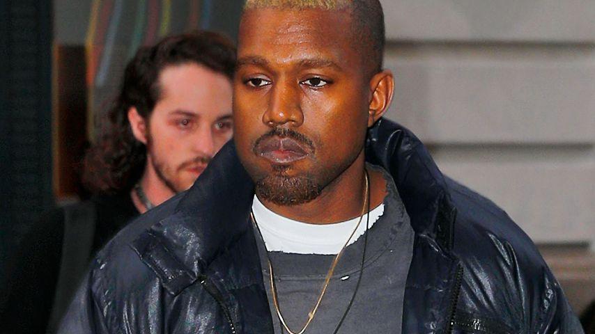 Kanye West in SoHo