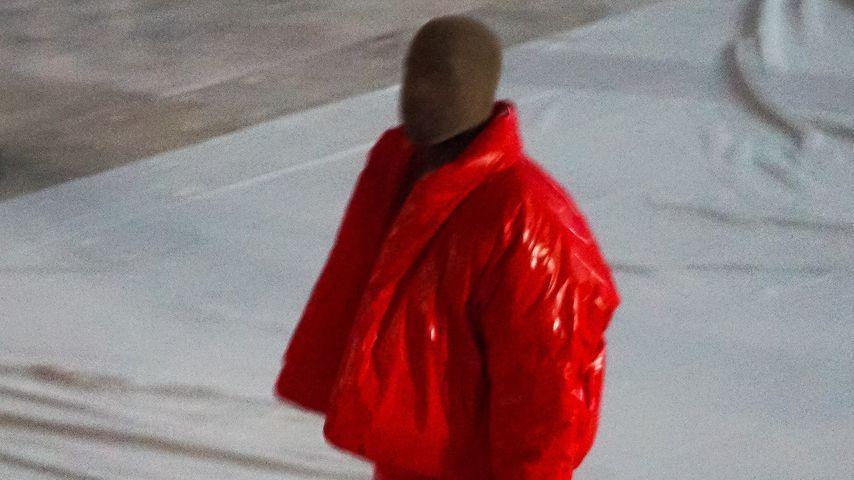 Kanye West bei seiner Album-Release-Party in Atlanta