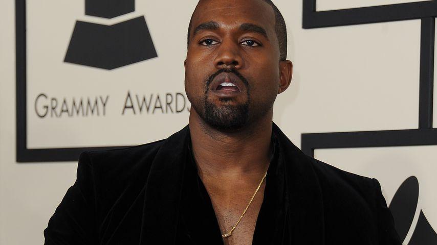 Kanye West bei den Grammys in L.A. im Februar 2015
