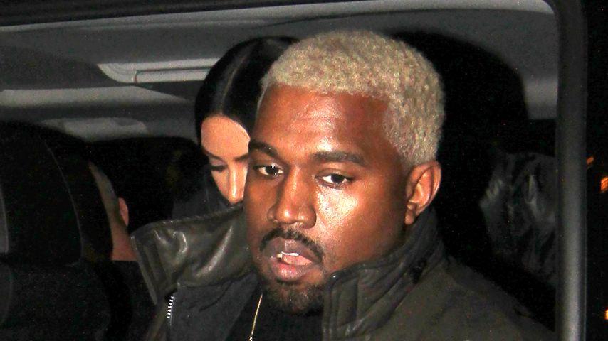 Zu viel Stress? Kanye West versteckt sich bei Fashion-Show!