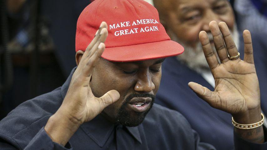 """""""Ich wurde benutzt"""": Kanye macht Schluss mit der Politik!"""