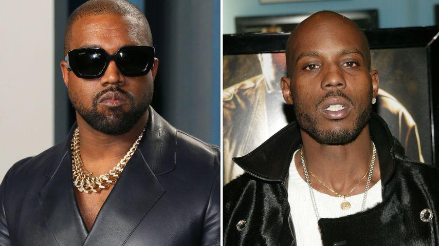 Dank Pulli-Verkauf: Kanye West sammelt Geld für DMX' Familie