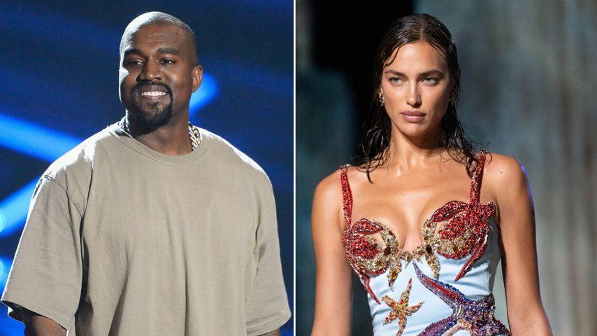 Kanye West mit Irina Shayk unterwegs: Was geht da wirklich?