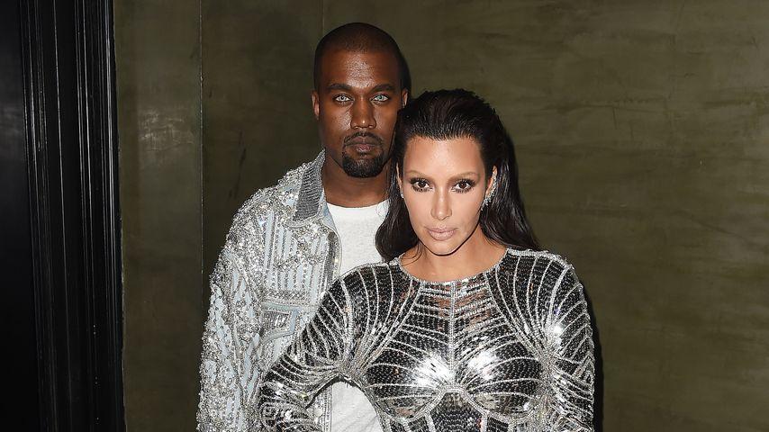 Kanye West und Kim Kardashian auf der Met Gala 2016