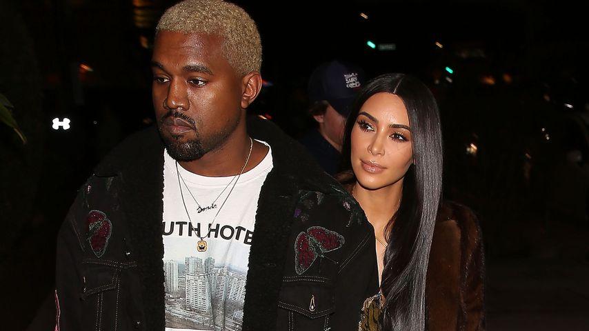 Kurz vor 3. Hochzeitstag: Kanye & Kim heimlich getrennt?