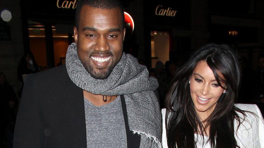 Kim Kardashian und Kanye West haben sich verlobt!