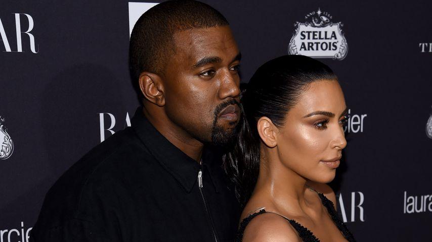 Kanye West und Kim Kardashian, 2016