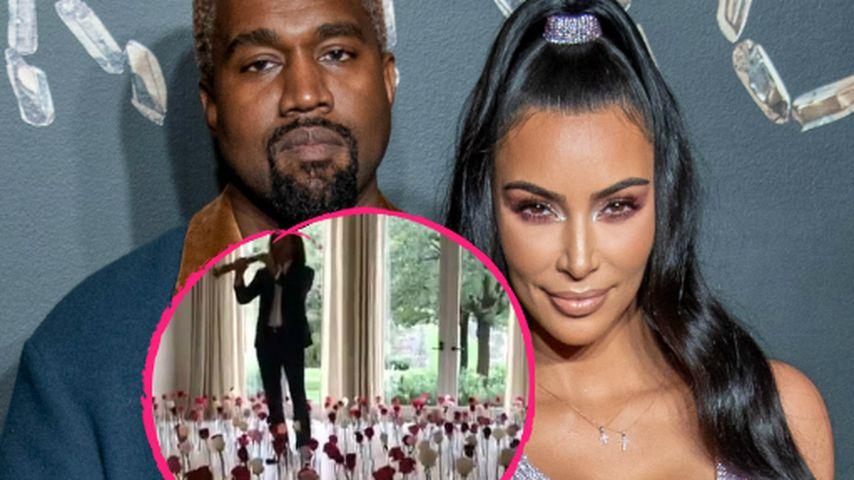 Kanyes Valentins-Überraschung: Kim hätte sie fast verpasst!