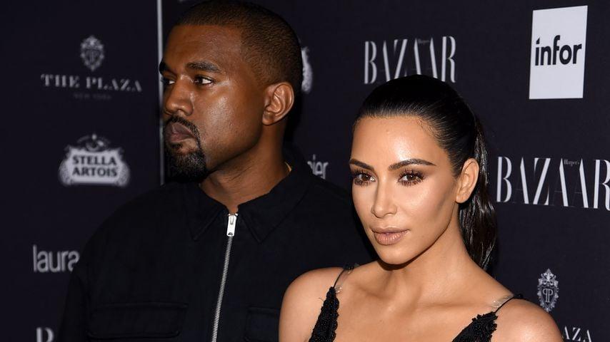 Kanye West und Kim Kardashian West im Jahr 2019