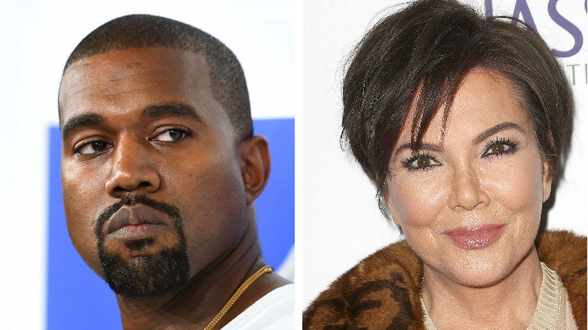 Kanye Wests verrückte Ausraster: Das sagt Kris Jenner dazu