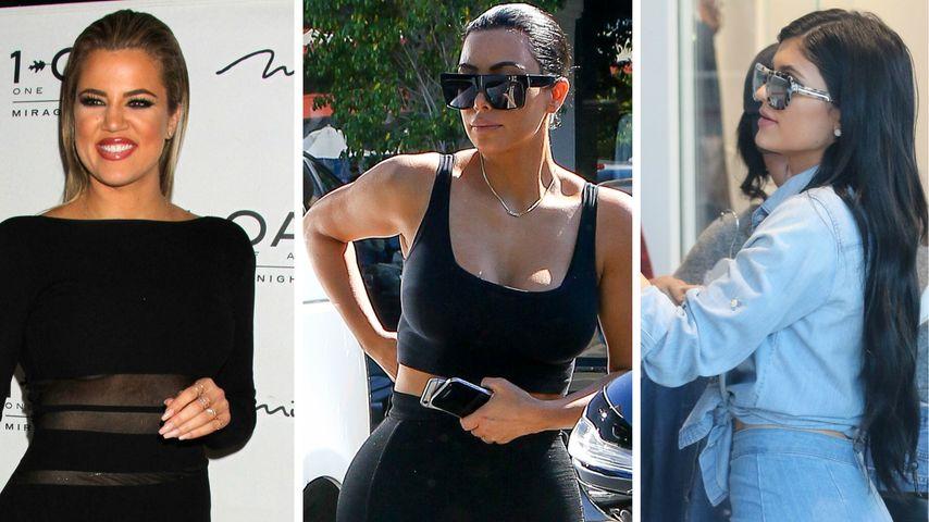 Khloe, Kim oder Kylie: Welche Kardashian siegt im Po-Battle?